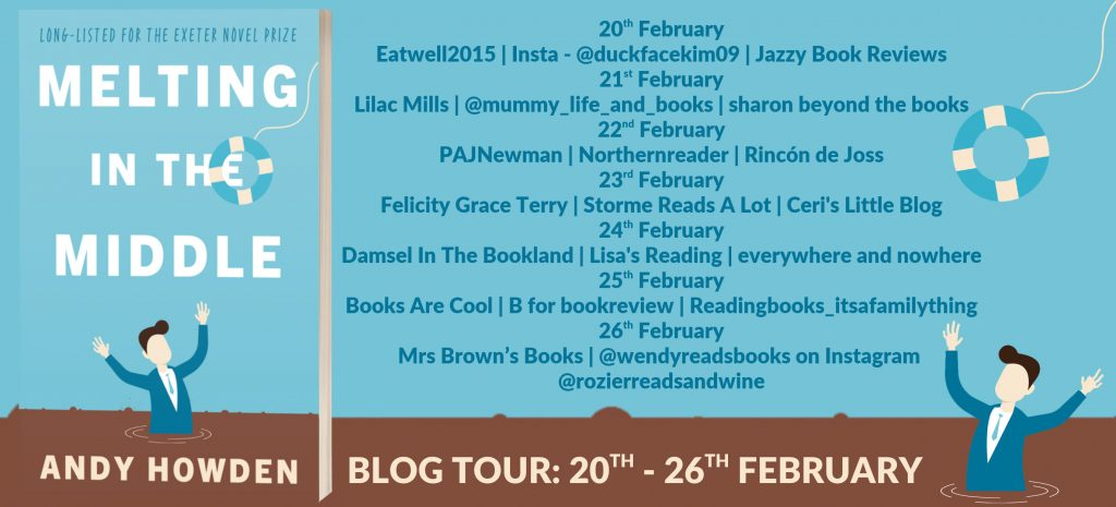 Melting in the Middle Blog Tour List