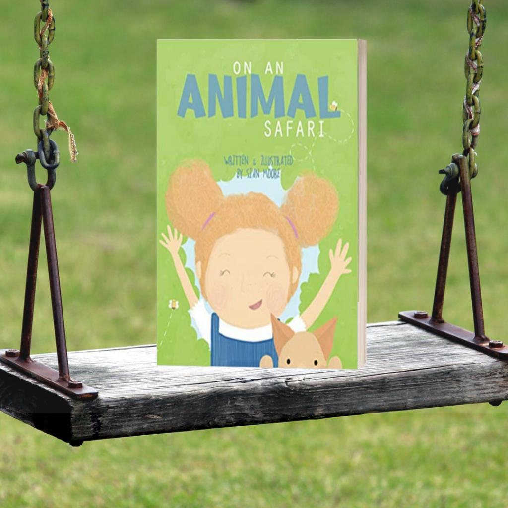 On An Animal Safari book on swing