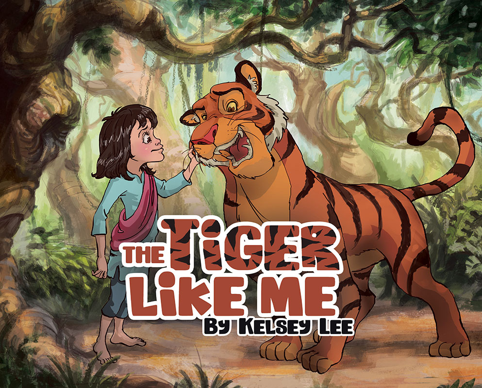 The Tiger Like Me Cover
