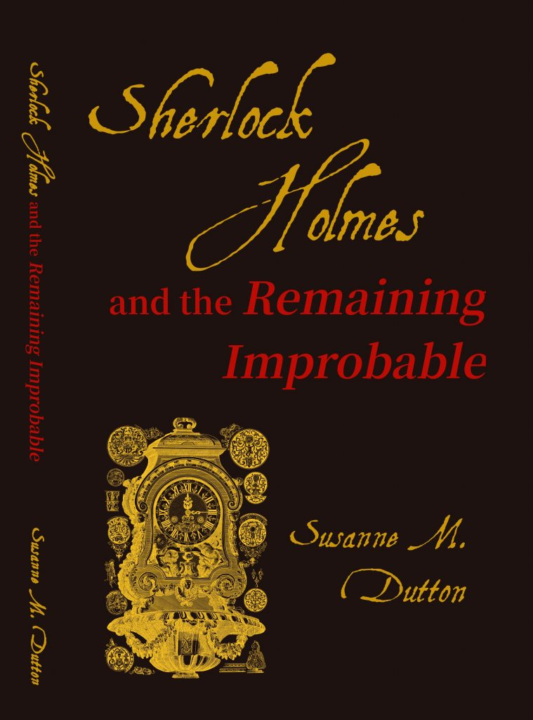 Sherlock Holmes and the Remaining Improbable cover