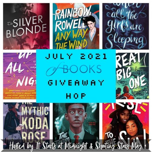 July of Books Giveaway
