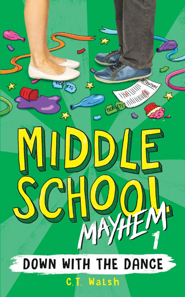 Middle School Mayhem 1 Down with the Dance Cover